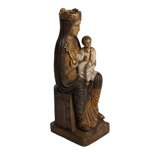 Vergine di Solsona 36 cm legno finitura policromata 2