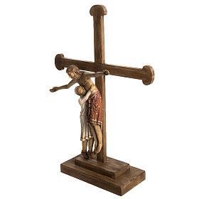 Déposition du Christ 72 cm bois Bethléem s3