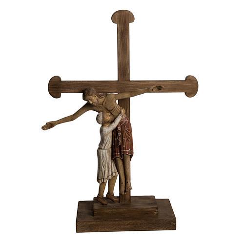 Déposition du Christ 72 cm bois Bethléem 1