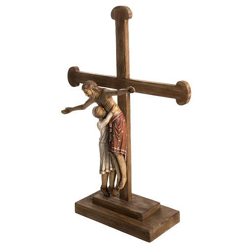 Déposition du Christ 72 cm bois Bethléem 3