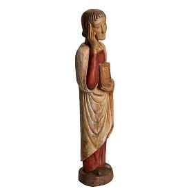 San Giovanni del Calvario Romano 49 cm legno finitura antico s2