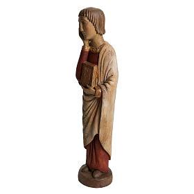 San Giovanni del Calvario Romano 49 cm legno finitura antico s3