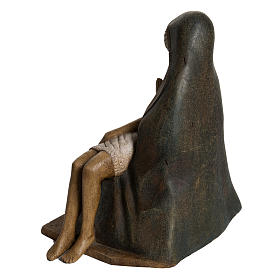 Pietà Bethléem 30 cm legno s4