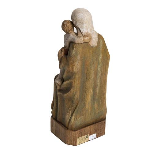 Vierge Espagnole 27 cm bois Bethléem 4