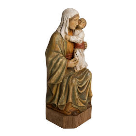 Vergine Spagnola 27 cm legno dipinto Bethléem s2