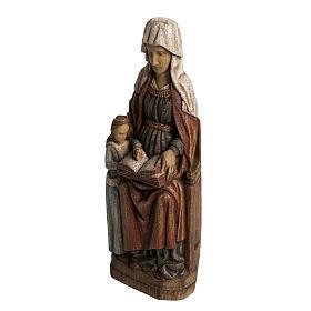Sainte Anne avec Marie 33 cm bois Bethléem s3