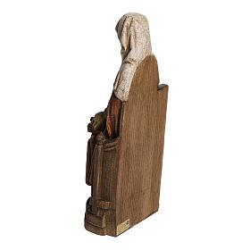 Sainte Anne avec Marie 33 cm bois Bethléem s4
