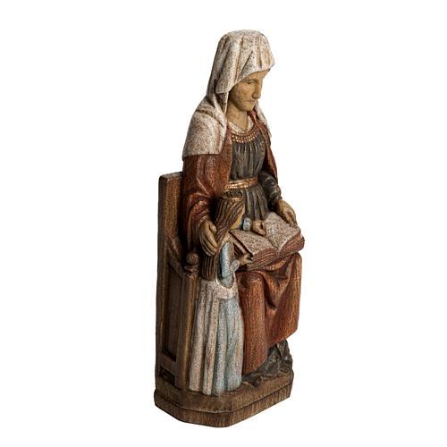 Sainte Anne avec Marie 33 cm bois Bethléem 2