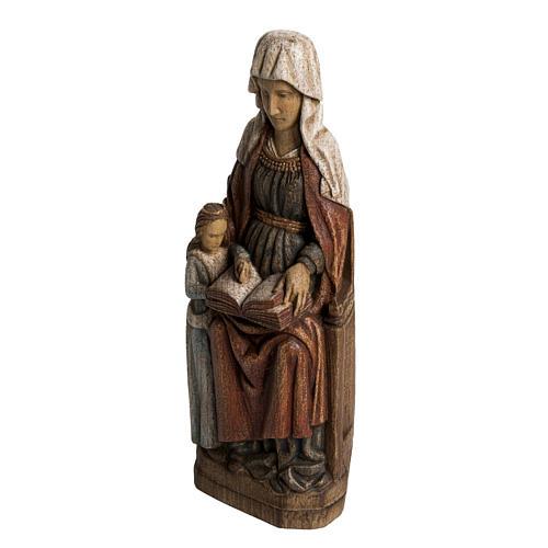 Sainte Anne avec Marie 33 cm bois Bethléem 3