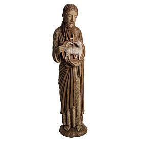 San Giovanni Battista di Chartres 74 cm legno Bethléem s1