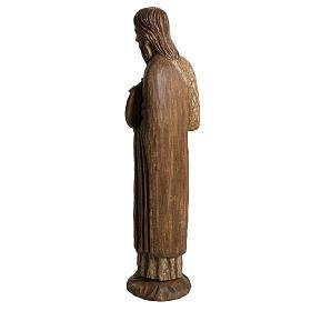 San Giovanni Battista di Chartres 74 cm legno Bethléem s4