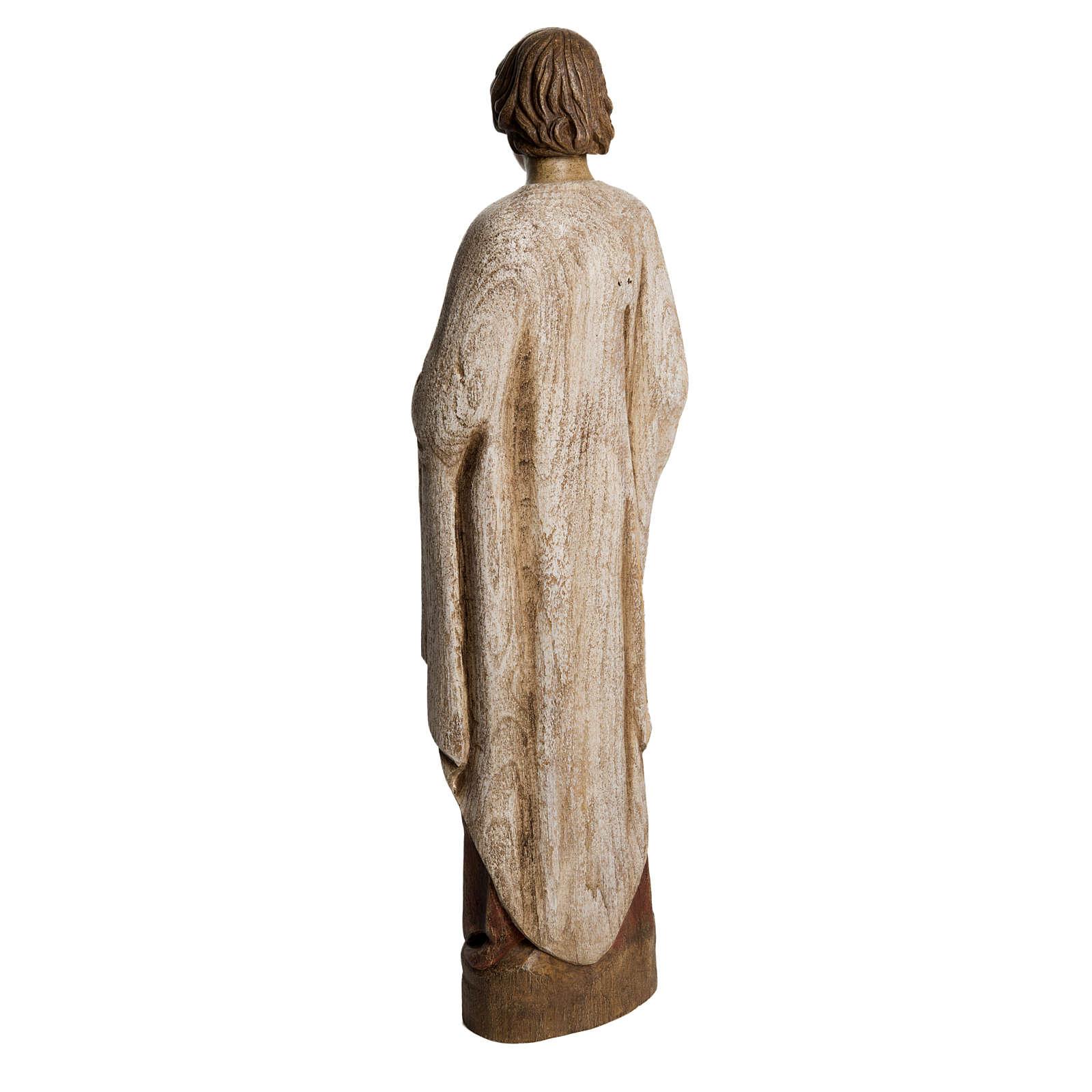 San Giovanni del Calvario Renano 51 cm legno Bethléem 4