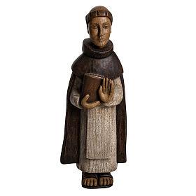 San Domenico 46 cm legno dipinto Bethléem s1