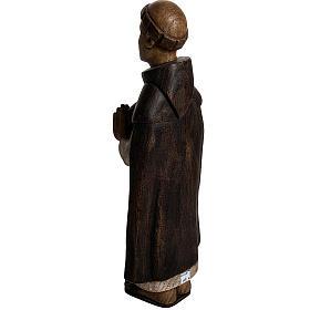 San Domenico 46 cm legno dipinto Bethléem s4