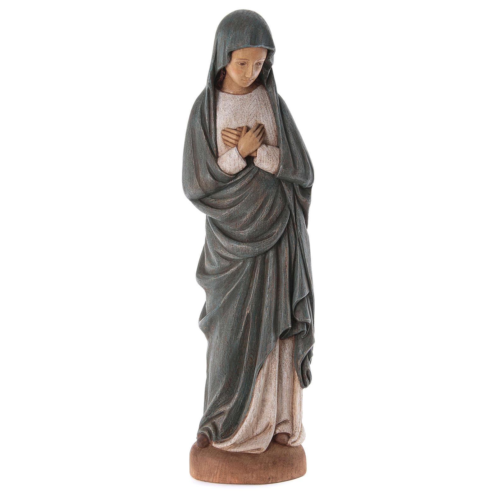 Mariä Empfängnis 80cm Holz Bethleem 4
