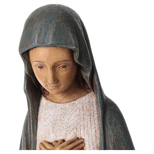 Mariä Empfängnis 80cm Holz Bethleem 2
