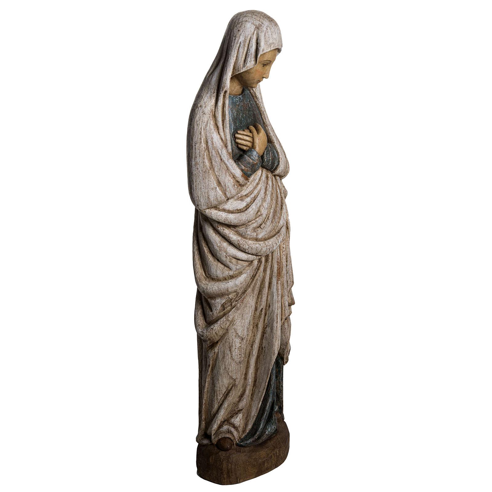 Notre Dame de l'Annonciation 80 cm bois Bethléem 4