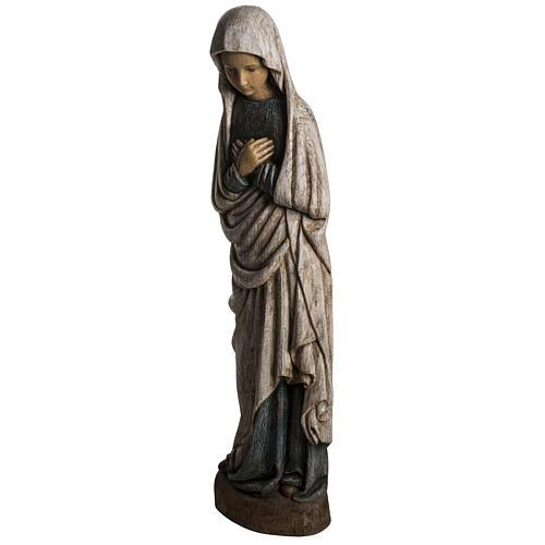 Notre Dame de l'Annonciation 80 cm bois Bethléem 3