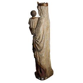 Madonna dal Cuore Profondo 75 cm legno finitura antica s4