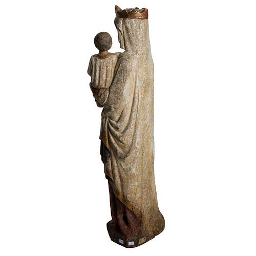 Madonna dal Cuore Profondo 75 cm legno finitura antica 4