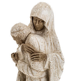Virgin Mary and John Paul II statue 27 cm, Bethlehem Nuns s9
