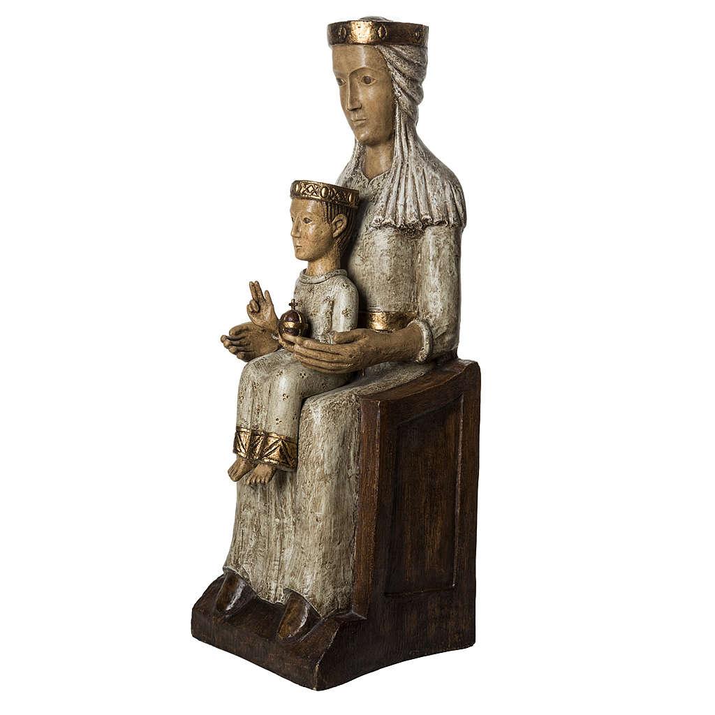 Our Lady of the Aude church stone statue 105 cm, Bethlehem Nuns 4
