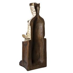 Our Lady of the Aude church stone statue 105 cm, Bethlehem Nuns s7