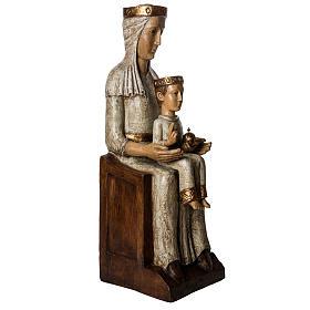 Our Lady of the Aude church stone statue 105 cm, Bethlehem Nuns s4