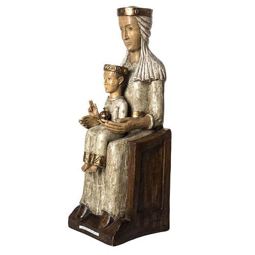 Our Lady of the Aude church stone statue 105 cm, Bethlehem Nuns 5