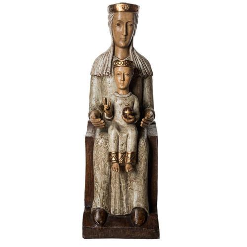 Our Lady of the Aude church stone statue 105 cm, Bethlehem Nuns 2