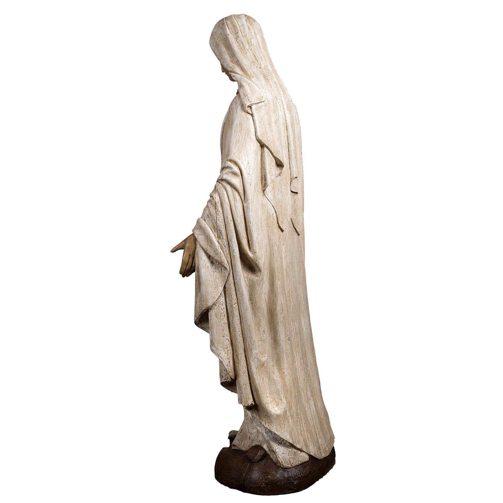 Immaculate Madonna de la Rue du Bac in stone, Bethléem 150cm 4