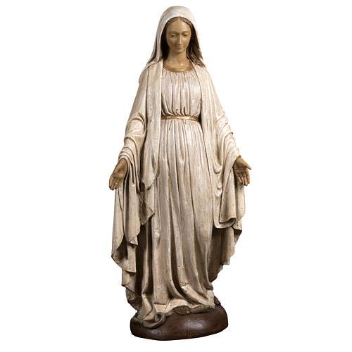 Immaculate Madonna de la Rue du Bac in stone, Bethléem 150cm 1
