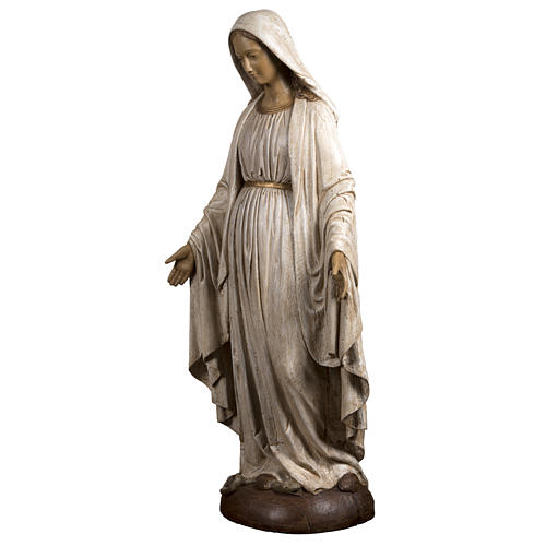 Immaculate Madonna de la Rue du Bac in stone, Bethléem 150cm 3