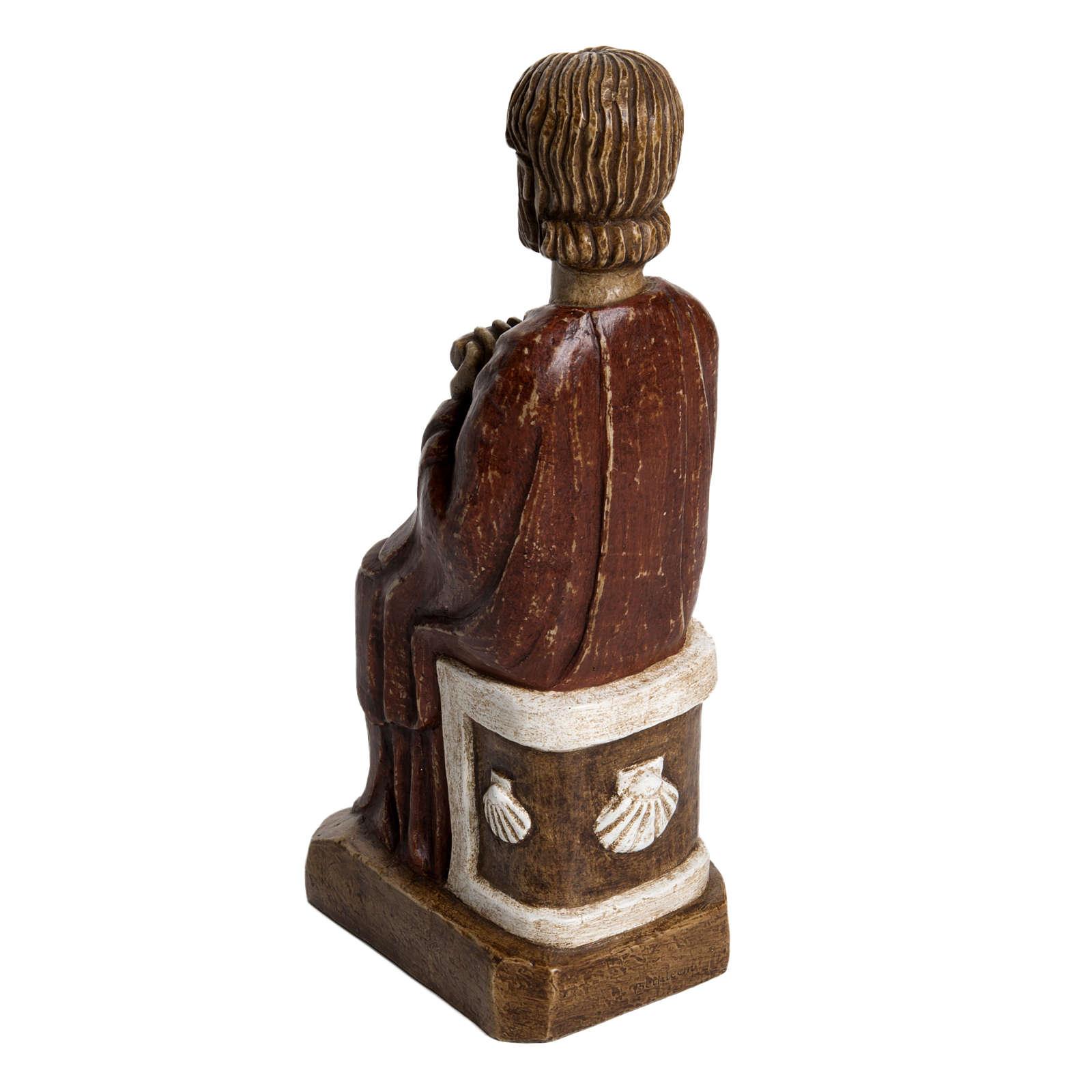 San Giacomo 25,5 cm pietra Bethléem 4