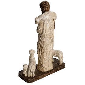 Good Shepherd in stone, Bethléem 38cm s4