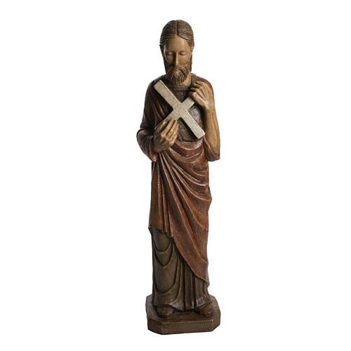 Saint André 72 cm pietra Bethléem 1