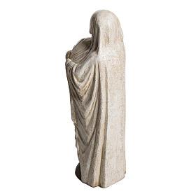 Virgin Mary and Jean Paul II stone statues 56 cm, Bethlehem Nuns s4