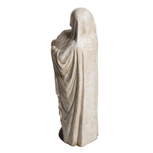 Virgin Mary and Jean Paul II stone statues 56 cm, Bethlehem Nuns 4