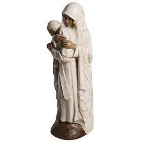 Virgin Mary and Jean Paul II stone statues 56 cm, Bethlehem Nuns s3