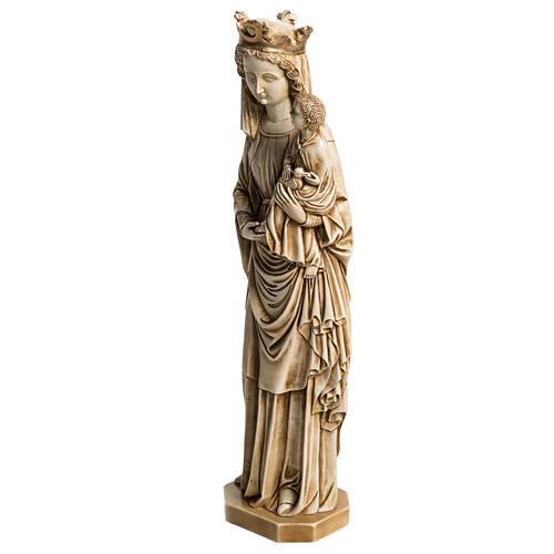 Our Lady of Fiat stone statue 35 cm, Bethlehem Nuns 3
