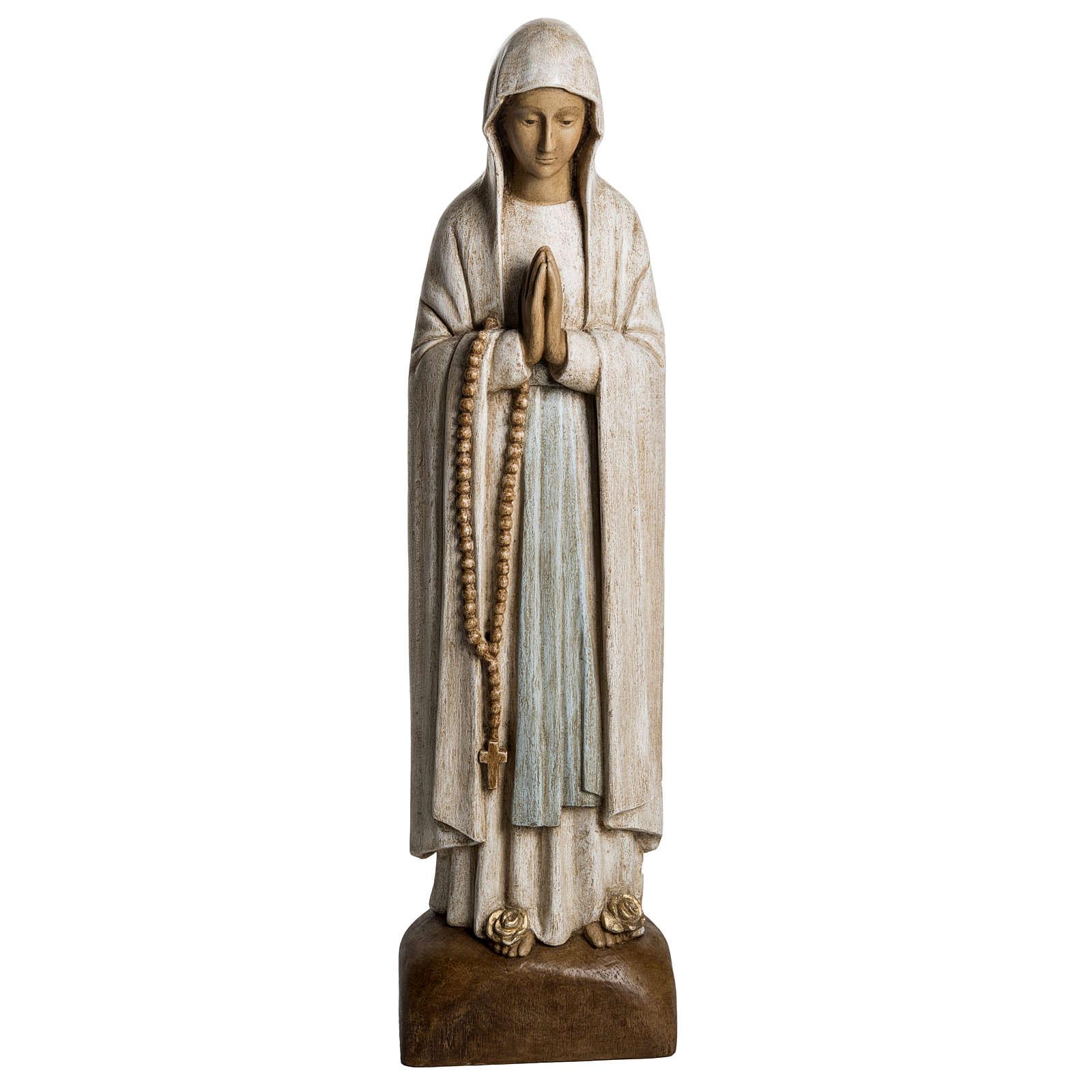 Virgen de Lourdes 76cm de Piedra Bethléem 4