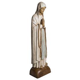 Madonna di Lourdes 76 cm pietra Bethléem s2