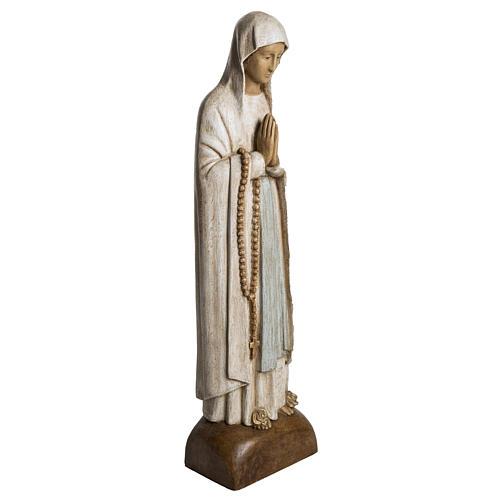 Madonna di Lourdes 76 cm pietra Bethléem 2