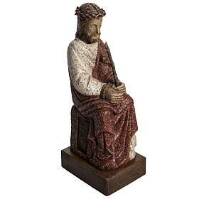 Chrystus obrzucony obelgami 39 cm kamień pirenejski s1
