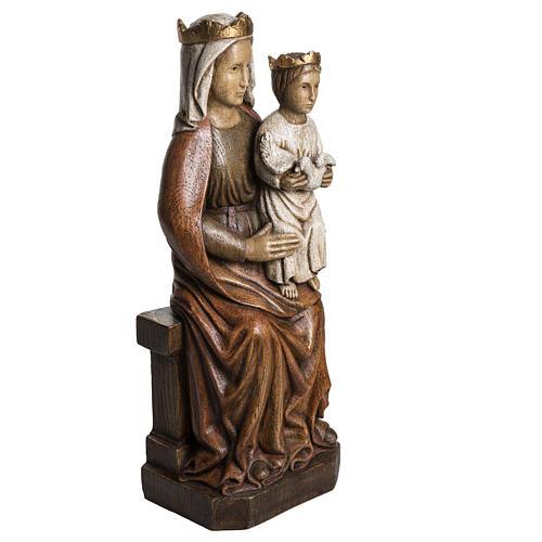 Madonna di Liesse 65 cm pietra Bethléem 2