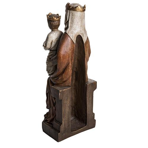 Madonna di Liesse 65 cm pietra Bethléem 4