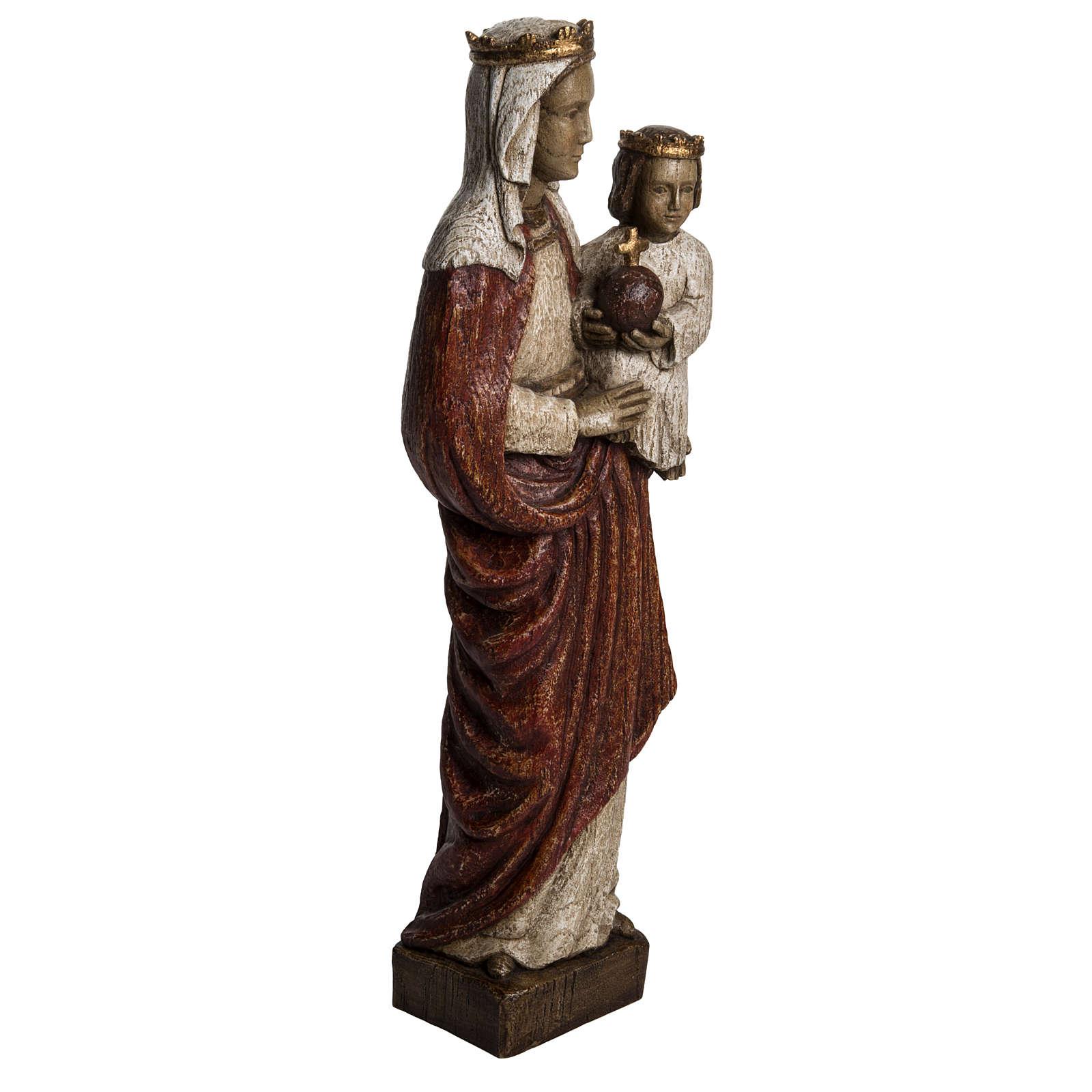 Madonna Regina 50 cm pietra Bethléem 4