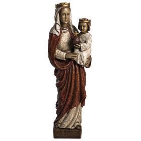 Madonna Regina 50 cm pietra Bethléem s1