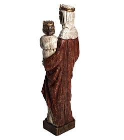Madonna Regina 50 cm pietra Bethléem s4