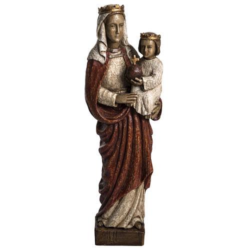 Madonna Regina 50 cm pietra Bethléem 1
